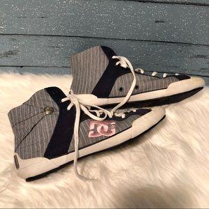 DC hightop sneakers